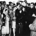 Nicolae Ceausescu in vizita de lucru la C.A.P. Fundulea. (8 nov.1972) - fototeca online a comunismului romanesc (cota E 574)