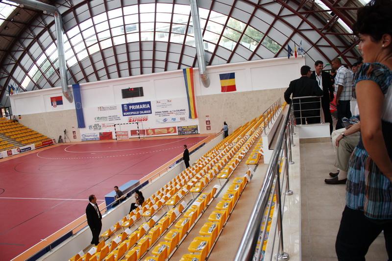 La Călărași, meciuri amicale de futsal dintre reprezentativele naționale ale României și Turciei