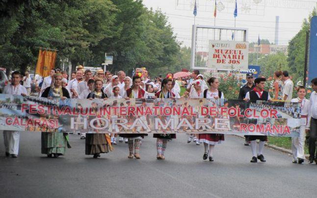 """PROGRAM Festivalul Internaţional de Folclor """"HORA MARE"""""""