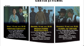 Programul proiecțiilor cinematografice în aer liber din weekendul 13-15 mai