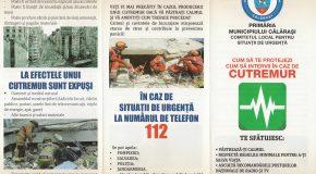 La Călărași se va desfășura un exercițiu de intervenție în caz de cutremur