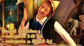 """Spectacolul de teatru pentru copii """"PINOCCHIO"""""""