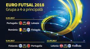 Partidele de futsal din cadrul Grupei a 4-a de calificare la UEFA Futsal Euro 2018 se dispută la Călărași