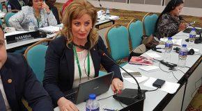Roxana Pațurcă susține egalitatea de șanse pentru femei și bărbați în legătură cu asigurarea unei reprezentări echilibrate pe listele de candidați