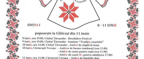 """Festivalul """"RomânIA cu povești"""" poposește la Călărași"""