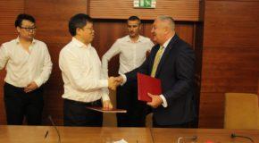 Semnarea acordului de principiu între Primăria Călărași și investitori chinezi în vederea unor investiții în infrastructură și mediu