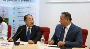 O delegație chineză este interesată de oportunități în zona mediului de afaceri agrar și zootehnic