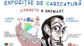 Expoziţie de caricatură ZÂMBETE ȘI GRIMASE