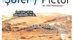 "Spectacolul de teatru – ""Șofer / Pictor"" de Hillel Mittelpunkt"