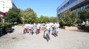 Info Day E-Bike, pe esplanada Consiliului Județean Călărași