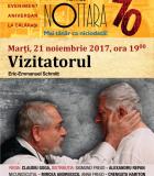 """Spectacolul de teatru – """"Vizitatorul"""" de Eric-Emmanuel Schmitt"""
