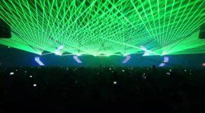 Spectacol de muzică și lasere, la trecerea dintre ani