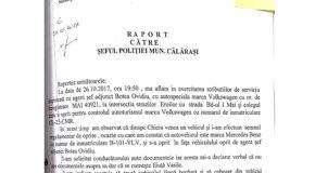 Polițistul rutier care l-a oprit pe Iliuță nu a declarat că i-a cerut testarea cu aparatul etilotest- declarație din dosar