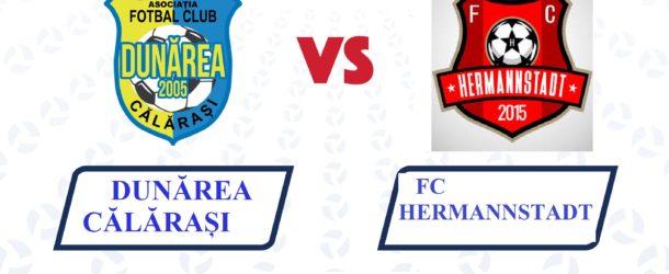 Cel mai important meci al echipei noastre din acest început de an se joacă la Călărași cu FC Hermannstadt!