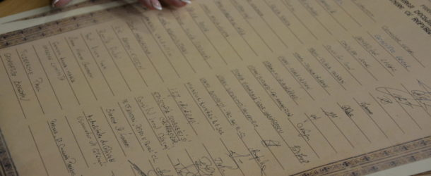 La Călărași a fost semnată Declarația simbol de unire cu Republica Moldova