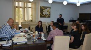 Experiențe inedite trăite de cinci elevi ai Liceului Danubius, la primăria Călărași