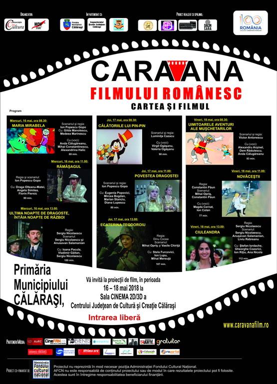 afis Caravana filmului romanesc