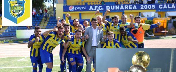 """Dunărea poate obține în premieră noul trofeu al Ligii a 2-a! Brișan: """"Este primul trofeu și noi trebuie să-l avem!"""""""