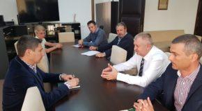 Întâlnire a primarului Daniel Ștefan Drăgulin cu reprezentanții Gărzii de Mediu Călărași și APM Călărași