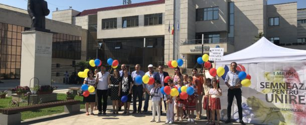 Călărași-Soare și Culoare-Ziua Corturilor deschise Pentru UNIRE