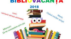 """Biblioteca Județeană """"Alexandru Odobescu"""" Călărași, organizează și anul acesta o nouă ediție de BIBLIOVACANȚĂ"""