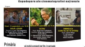 Trei seri de film romînesc la Călăraşi, în Parcul Dumbrava!