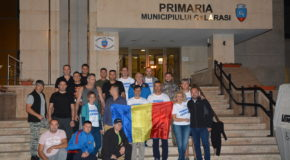 Centenarul Marii Uniri omagiat prin ridicarea unei Cruci pe Vârful Negoiu de către Primăria Municipiului Călărași și Inspectoratul Județean de Jandarmi Călărași