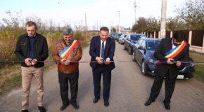 Drum reabilitat între localitățile Vâlcelele și Vlad Țepeș