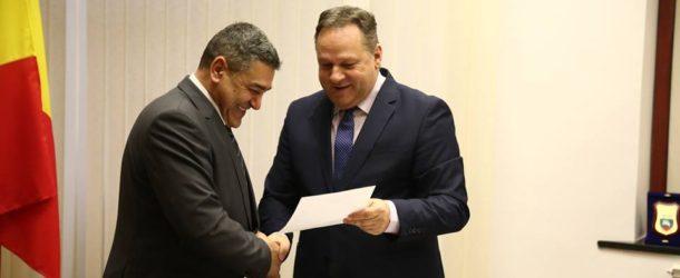 Gheorghe Drăgănică, noul director la DGASPC Călărași