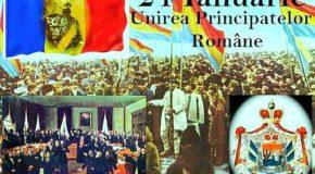 160 DE ANI DE LA UNIREA PRINCIPATELOR ROMÂNE 24 Ianuarie 1859 – 24 Ianuarie 2019-program