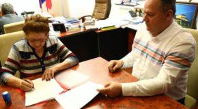 S-a semnat contractul de lucrări pentru drumul județean 411