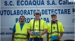 EcoAqua Călărași se implică activ în reducerea pierderilor din rețelele de apă potabilă