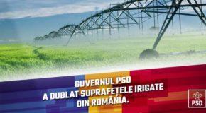 Iulian Iacomi-Guvernul PSD a dublat suprafețele irigate din România (P)