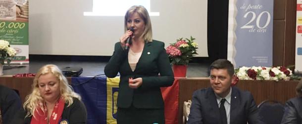 Candidatul PSD pentru alegerile europarlamentare, senatorul Roxana Natalia Pațurcă, a participat la evenimentul ,,Susţinem învăţământul preuniversitar agricol''