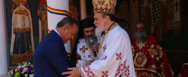 Slujba Arhierească săvârșită la Mănăstirea Radu Negru
