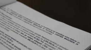Semnarea contractului pentru canalizare menajeră și pluvială în cartierul Măgureni