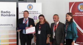 """Primăria Călărași a fost premiată în cadrul Conferinței internaționale """"Inovație și calitate în sectorul public"""""""