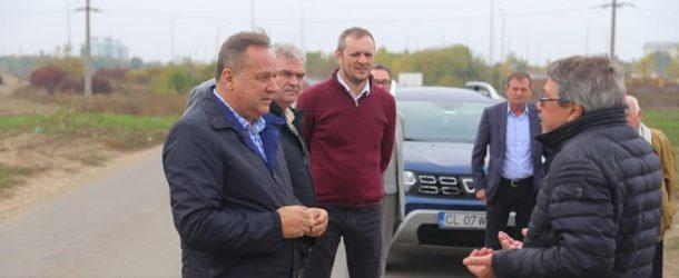 Tur de forță al președintelui Consiliului Județean Călărași, Vasile Iliuță, în județ