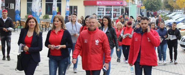 PSD, pe străzile din Călărași !