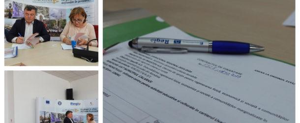 Semnarea contractului de finanțare pe Axa 4 a Regio 2014-2020, privind înființarea unui centru pe ntru activități educative în cartierul Livada