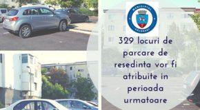 Primăria așteaptă cereri pentru locuri de parcare