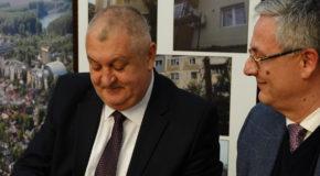 Semnarea contractului de finanțare europeană a proiectului de modernizare a străzii București