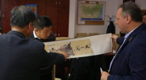 Delegație chineză, întâlnire cu conducerea consiliului județean