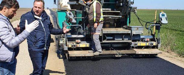 Se toarnă asfalt și se achiziționează aparatură și echipamente în spitale