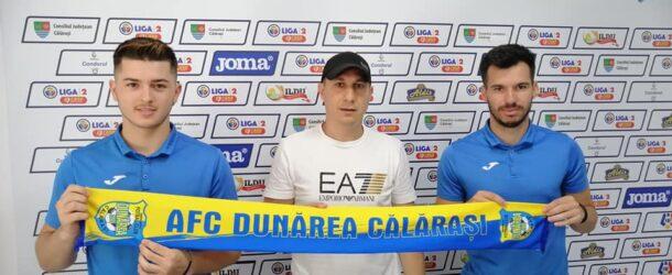 George Tudoran a semnat prelungirea contractului pe doi ani , Alexandru Ionuț, pe trei
