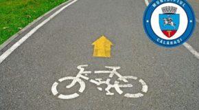 Piste de biciclete în partea de sud a municipiului Călărași