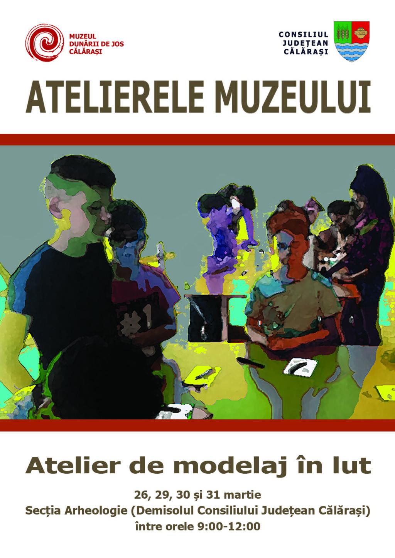 Muzeul Dunarii de Jos Atelier de modelaj lut