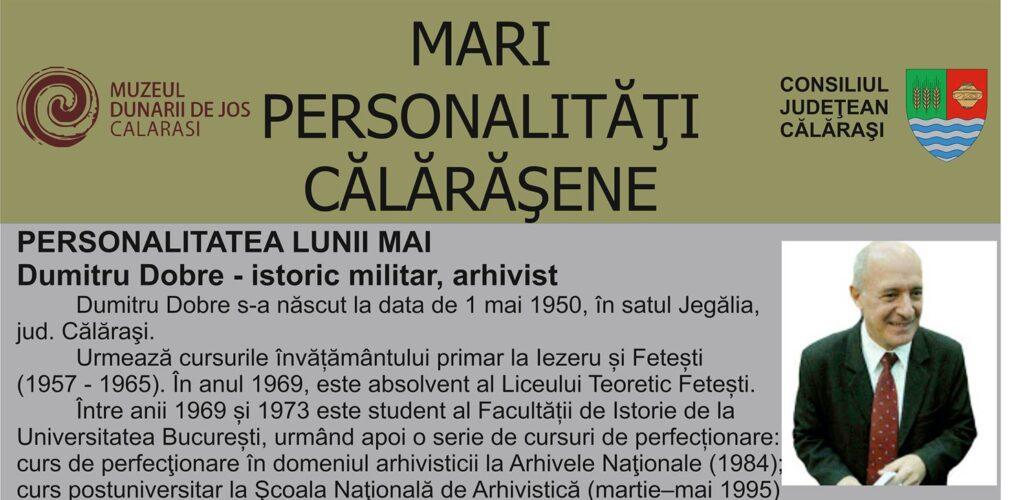 Muzeul Dunarii de Jos personalitatea lunii mai