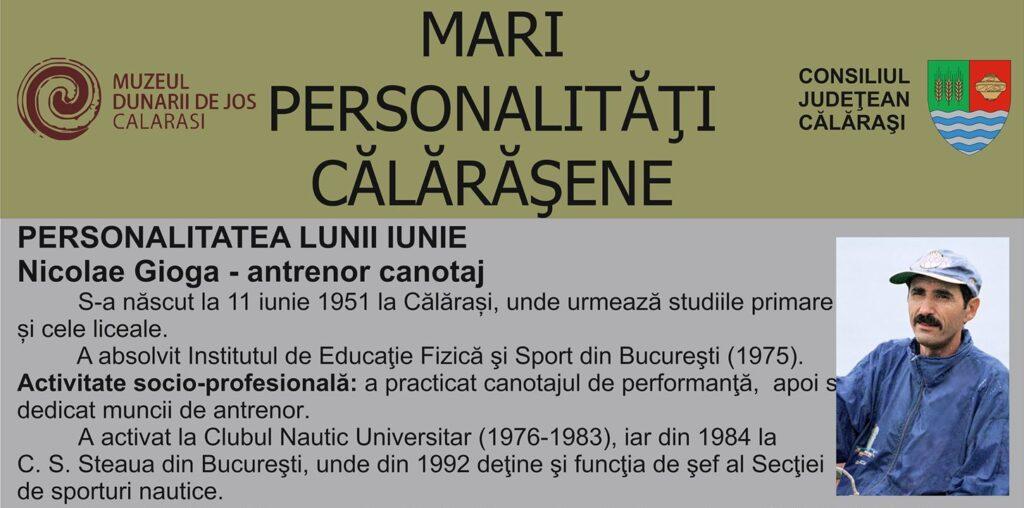 Muzeul Dunarii de Jos Personalitatea lunii iunie
