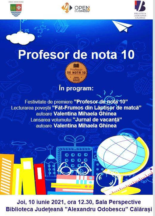 profesor nota 10